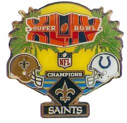 Super Bowl XLIV       Pin