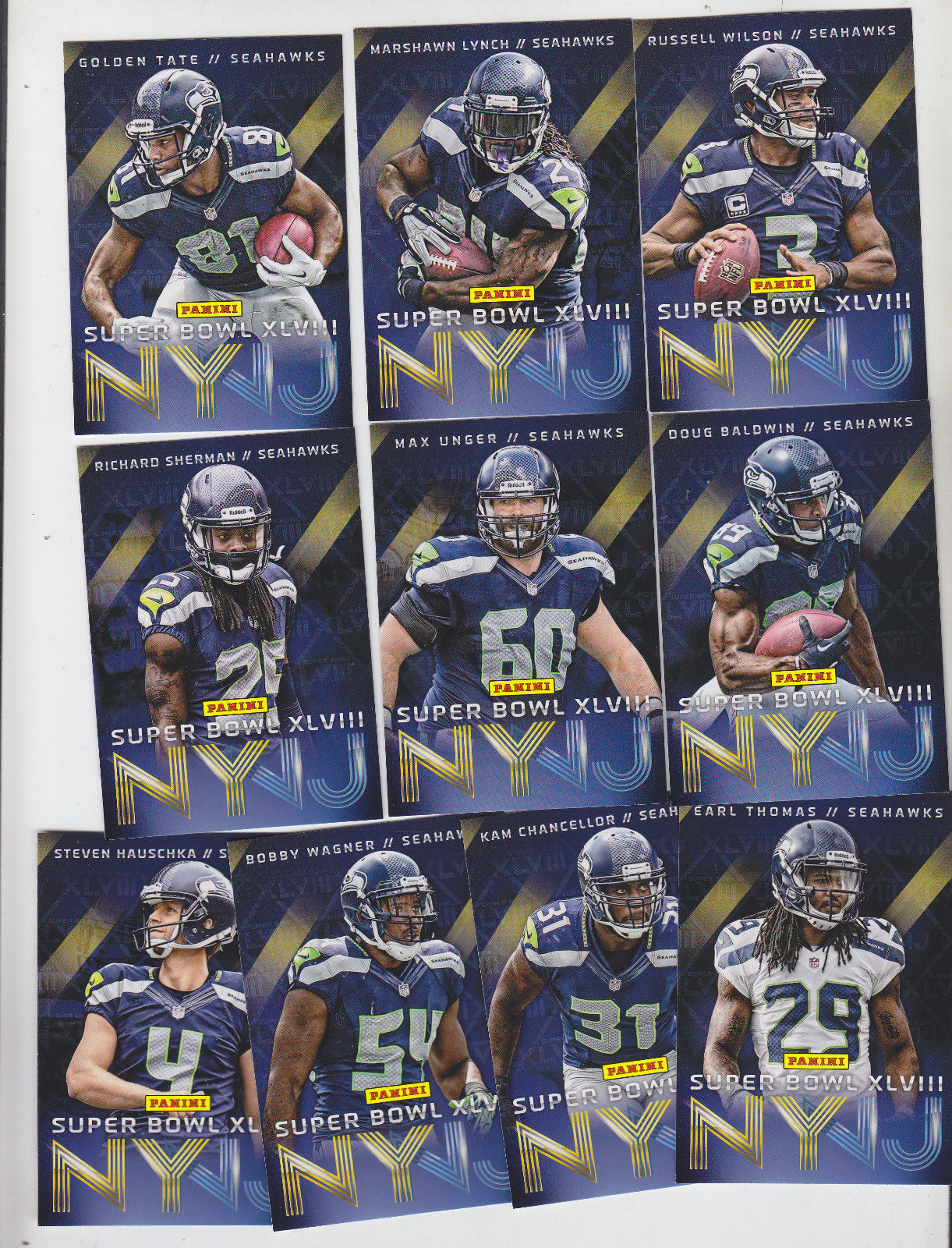 Super Bowl S          Card Set