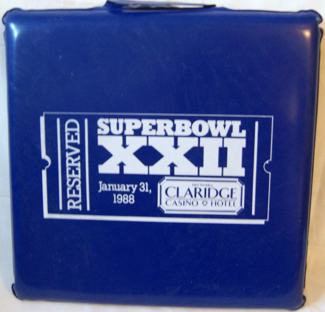 Super Bowl XXII       Cushion