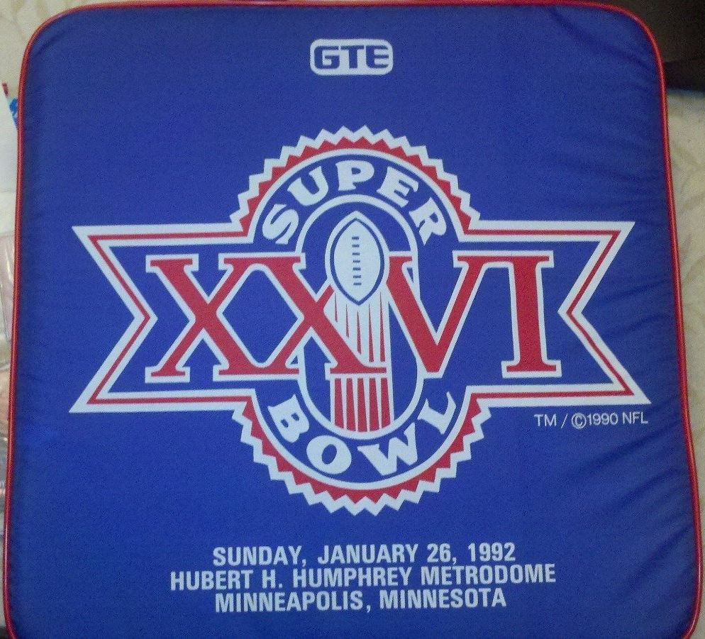 Super Bowl XXVI       Cushion