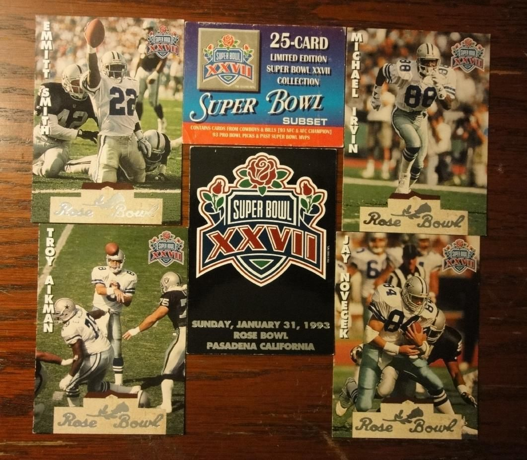 Super Bowl XXVII      Card Set
