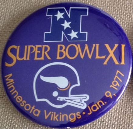 Super Bowl XI         Pin