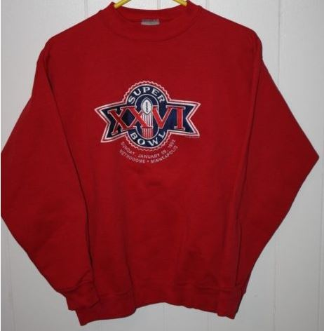 Super Bowl XXVI       Clothing
