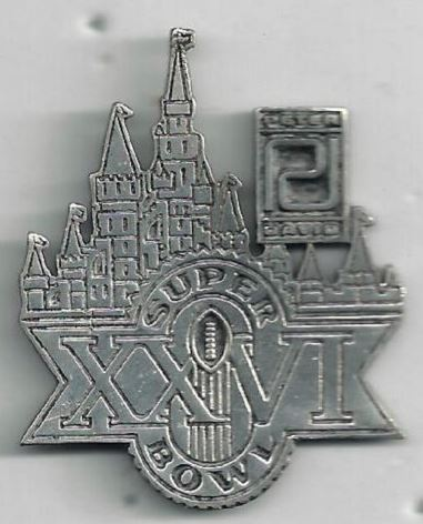 Super Bowl XXVI       Pin