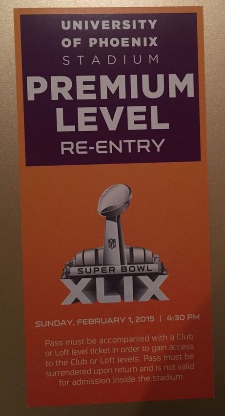 Super Bowl XLIX       Pass