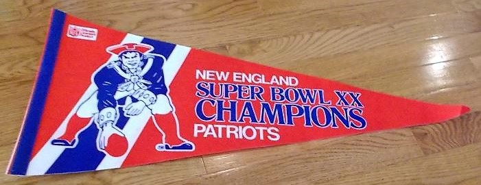 Super Bowl XX         Pennant