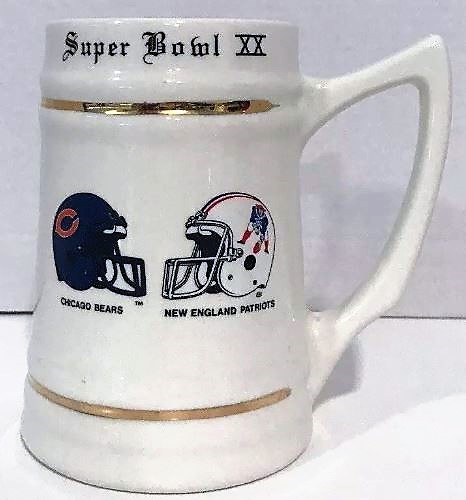 Super Bowl XX         Glassware/Mugs