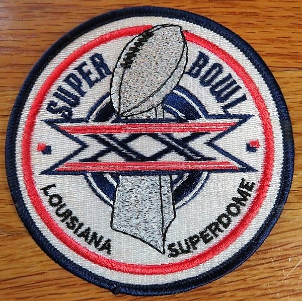 Super Bowl XX         Patch