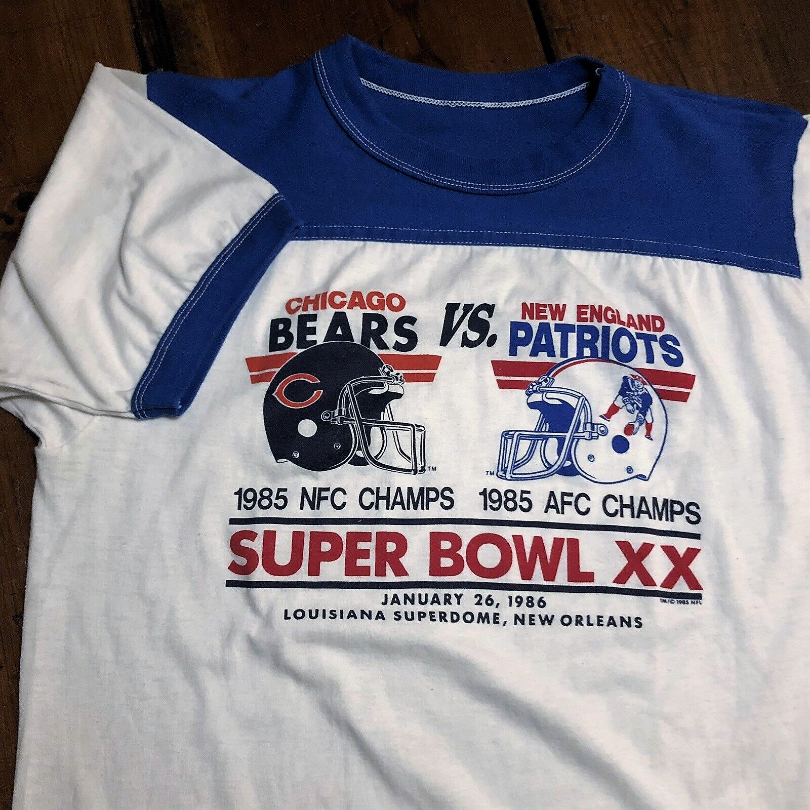 Super Bowl XX         Clothing