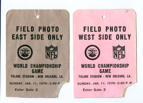 Super Bowl IV         Pass