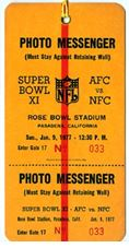 Super Bowl XI         Pass