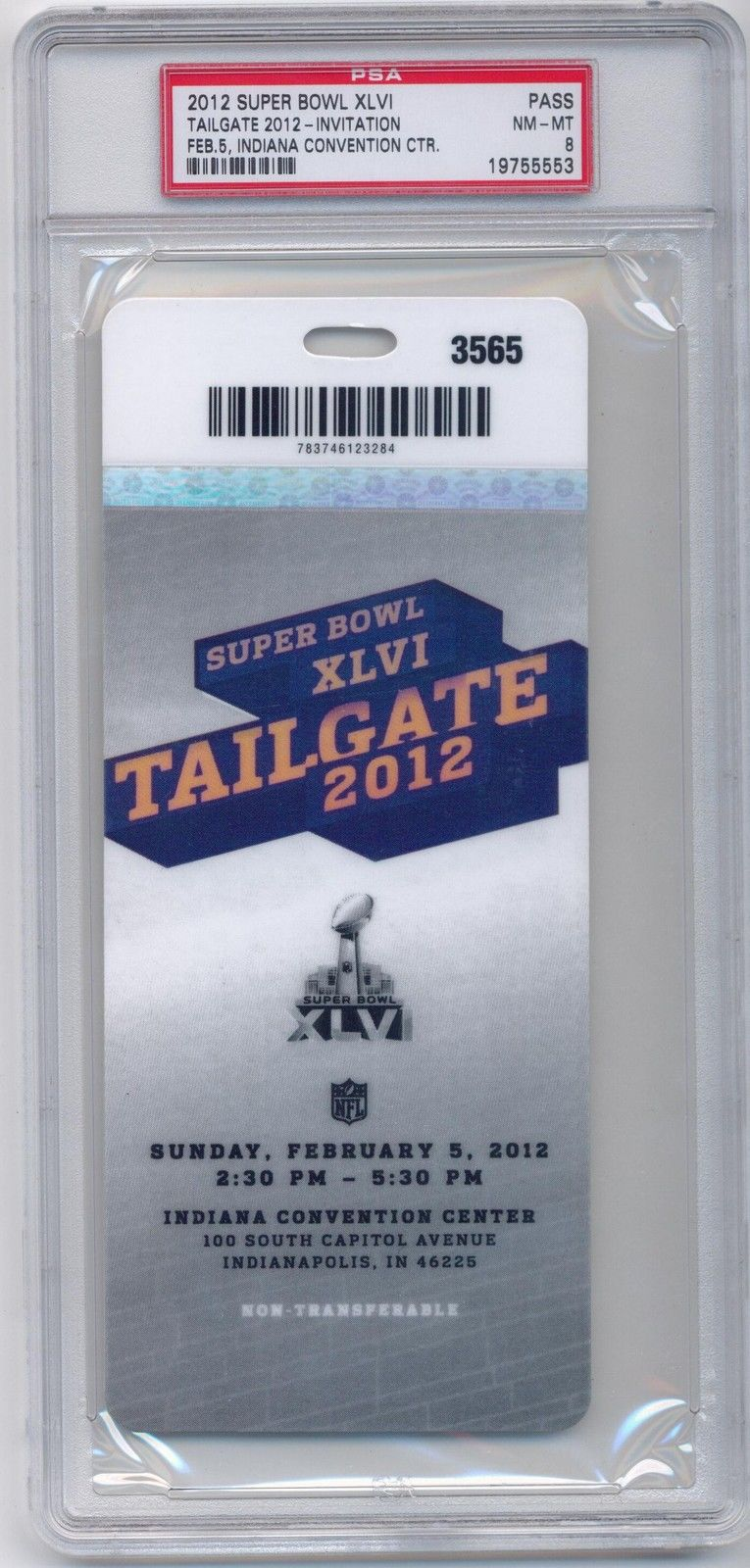 Super Bowl XLVI       Pass