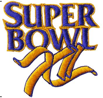 Super Bowl XII        Patch