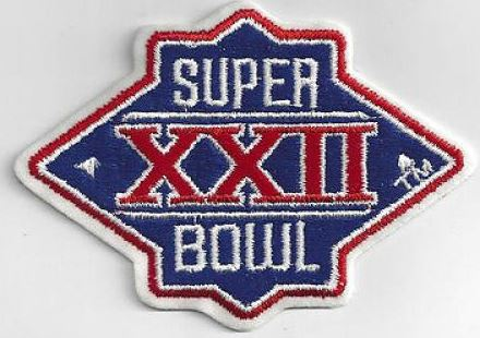 Super Bowl XXII       Patch