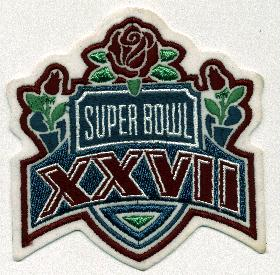 Super Bowl XXVIII     Patch