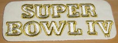 Super Bowl IV         Patch