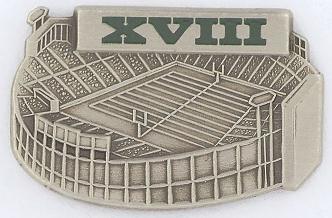 Super Bowl XVIII      Pin