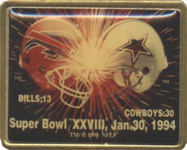 Super Bowl XXVIII     Pin